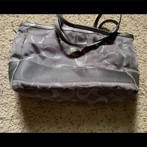 Coach Brand Diaper Bag Carry All and Wallet